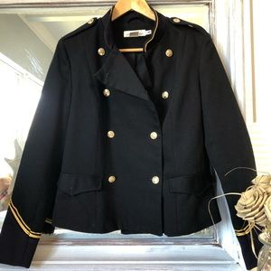 L.O.G.G. Nautical Military Double Breasted Jacket